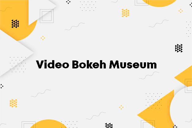 Video Bokeh Museum Gratis