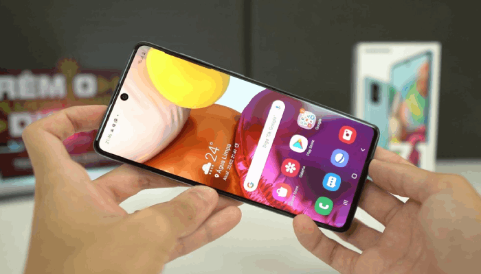 Cara Screenshot Samsung A71